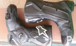 For Sale : Alpinestar S-MX5 Boots Size 43 US 9 Almost