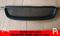 altis 2001 2002 2003 diamond mesh grill 2,500 visit us