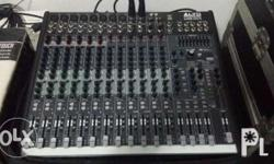 Alto mic mixer live 1604 good as new no issue