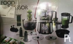 Ambiano food processor with juicer all in