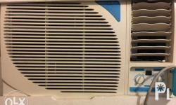 Selling this almost new air conditioner due to moving