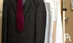 Used only once during prom, DANZEN BRAND OF SUIT two