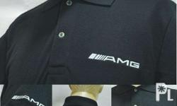 AMG Mercedes Benz Polo Shirt MS-120 Export Quality