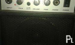 This is a small amplifier used short while by our son