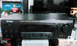 For sale Amplifier X-Bass W/FM radio Good condition