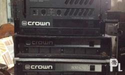 Ctrown CSL 800 from italy.13k each DES 1500 13k crest
