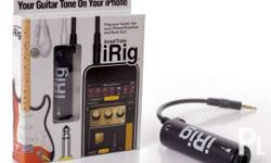 Amplitube Irig Guitar Amp and Effects Rig System for