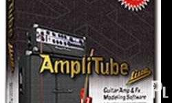 1 Amplitube Live CD Software For Band Studio Recording