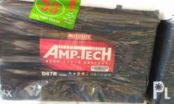 Motolite Amp-tech deep cycle battery provides power to