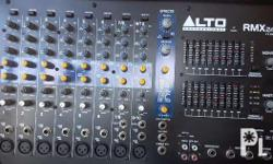 Alto analog mixer for small PA event 10 channels..