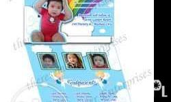 Angel 5x5in pop-up personalized invites for only 45/set