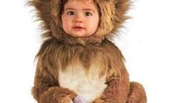 Lion Costume A one piece jumpsuit of lion fur with