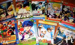 Selling Anime DVDs (pirated) for PHP 300! !! SOLD AS