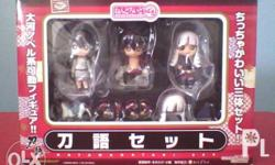 Anime Figure Authentic KATANAGATARI Set of 7 >Original