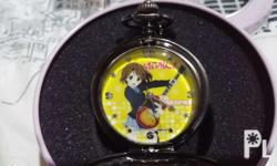 For sale! Authentic K-on! Pocket watch, not same as the