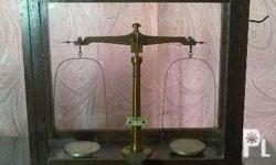 The scale is probably dated 1920's and used in medicine