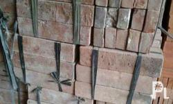 We have antique bricks made from clay available. 1x2x8
