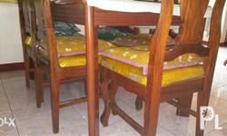 Antique dining set. almost 3 decades old. Will