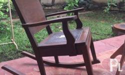 Genuine Narra 60+ years old Rocking Chair 1st pay basis