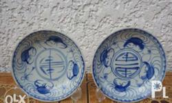 Selling Antique Qing Dynasty Porcelaine Crab Plates
