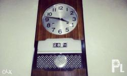 Antique SEIKO WALL CLOCK SEIKO Bought in 40's Smooth