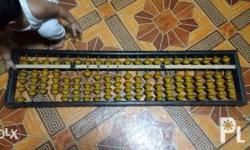 Giant Abacus for sale!!! 850 pesos 45in X 11in pick up