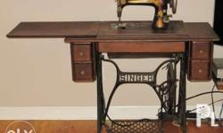 5 units antique sewing machines, depadyak and electric.