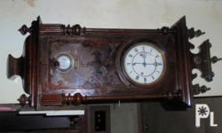 antique wall clocks 4sale. 1 marked 1810(not working,