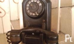 Antique wall phone, p2,000. 09178449859 / 4042299.