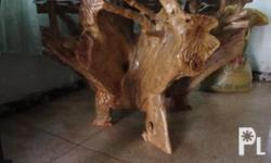 Antique Table made from root ofNarra tree (pterocarpus