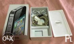 Hi, I�m selling my Apple iPhone 4s 16GB (Black).