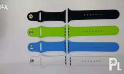 Silicone strap for your apple watch We dont keep too