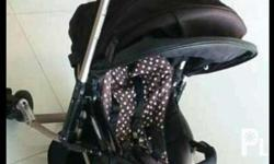 aprica stroller matibay po xa at leather ang cover.no