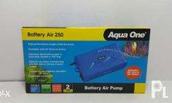 Aqua One Battery Operated Air Pump Perfect for