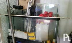 FOR SALE 4 different sizes of aquarium & 1 stand � 1-