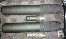 Sound and flash suppressors for your 5.56/ .223.