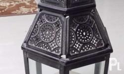 imported arabic vintage lamp with candle... came from