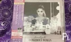 USED NM-M condition Dangerous Woman CD/DVD (JP) - 1800