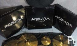 HOTTEST selling cymbal set today. The Armada Achilles.