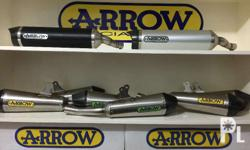 Arrow Thunder Full Exhaust System for Kawasaki Ninja