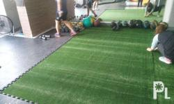 Artificial grass is ideal for all types of training,