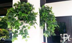 Potted artificial plants for home, office, or