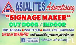 Our Company Asialites Advertising Company fabricates
