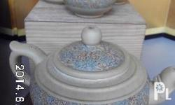 Very nice antique chinese or japanese teapot set (1