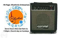 Brand New Aspire 10w Guitar Amplifier Contact Number On