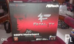 Fos sale gaming Asrock Fatality 990Fx Mobo for Amd fx