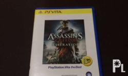Preloved Assasins Creed for PS Vita, slightly used, in