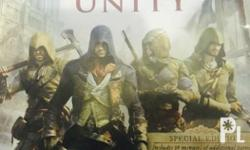 Assassin's Creed Unity PS4 No scratch Unused Codes