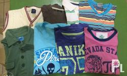 All used but not abused.. Preloved clothes of my son