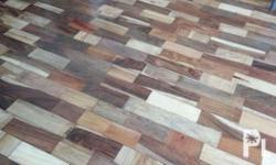 Assorted hardwood woodtile half inc thick x3inc wide